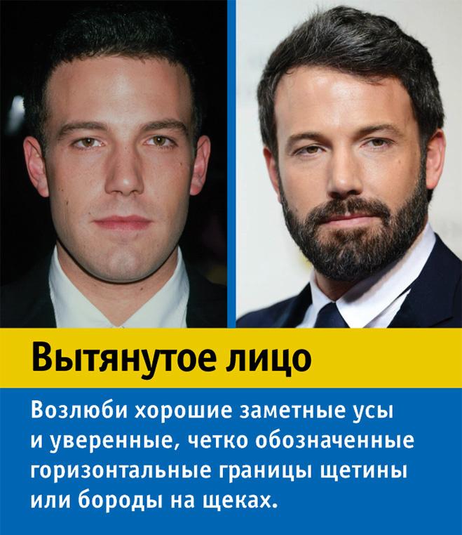 Как вырастить бороду, если у тебя вытянутое лицо