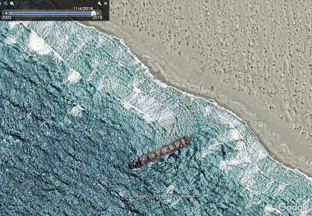 Фото №1 - 20 необычных мест, найденных на Google Earth