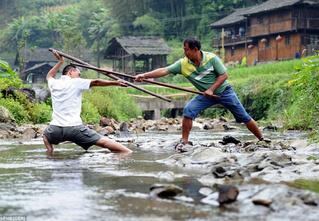 Найдена деревня, в которой все жители владеют кунг-фу!