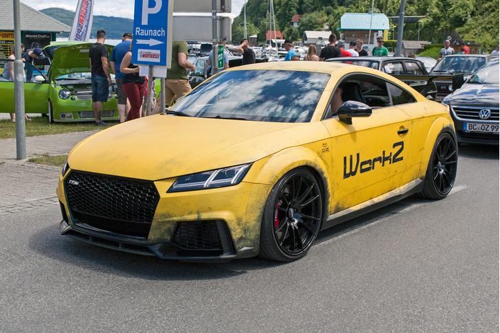 Фото №54 - Самые безумные машины фестиваля GTI Treffen