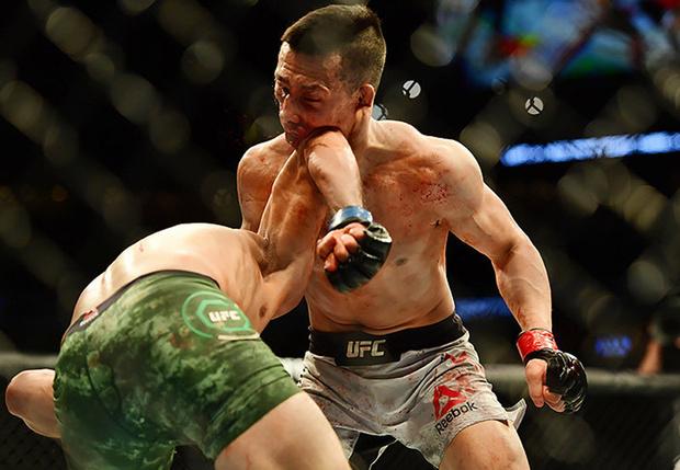 Фото №1 - Яир Родригес одолел соперника «самым ярким нокаутом в истории UFC» (видео)