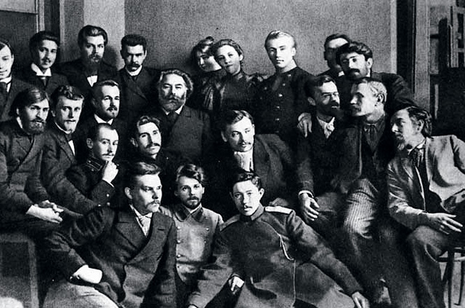 В Академии художеств. 1896 год