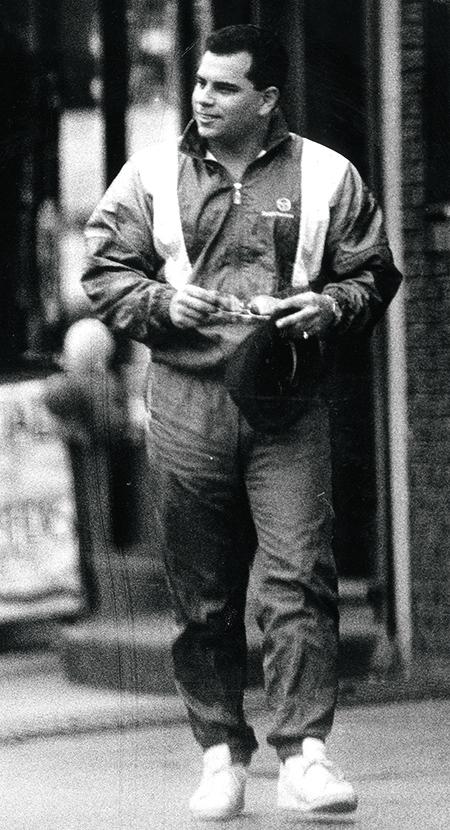 Джон Джуниор, сын Готти. 1996 г.