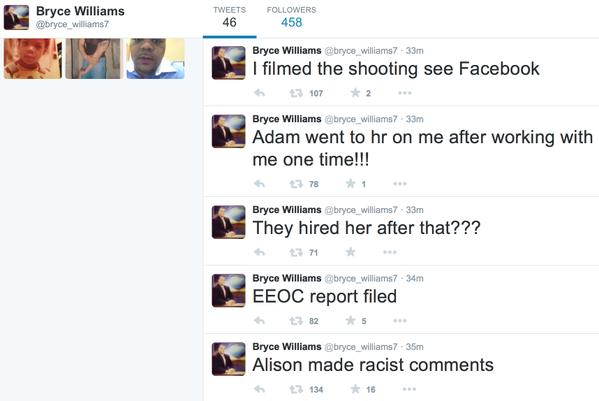 Фото №2 - Жестокое убийство репортеров в прямом эфире. Видео