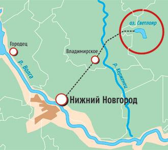От Нижнего Новгорода на попутке до села Владимирского Воскресенского района