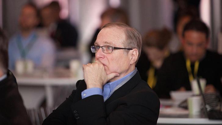 Фото №1 - Умер один из основателей Microsoft Пол Аллен