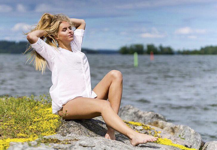 Фото №1 - Знакомься: «Мисс Финляндия 2018» Алина Воронкова, русская корнями!