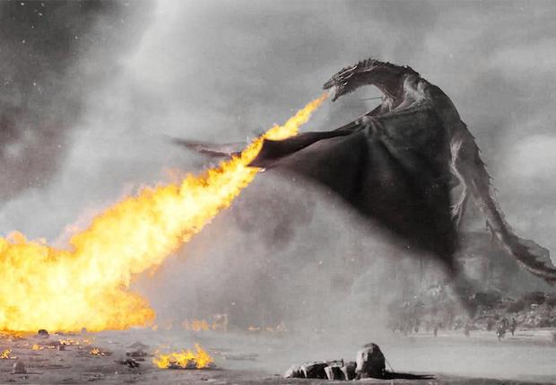Фото №1 - Координатор трюков «Игры престолов» показал, как снимались сцены с драконами (видео)