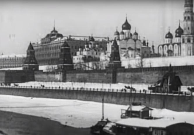 Видео Москвы, снятое 110 лет назад! Какой снег! Какие лица!