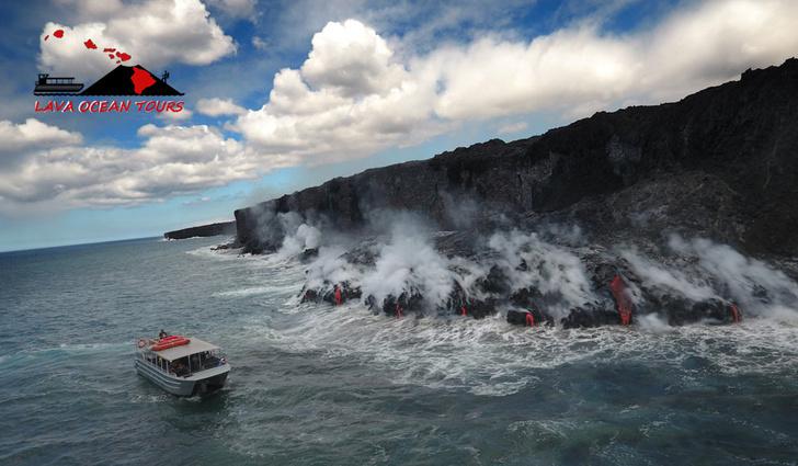 Фото №2 - Вулканическая бомба пробивает крышу экскурсионного корабля — устрашающее ВИДЕО