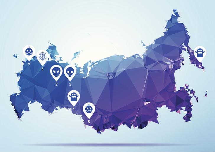 : 8 мест в России, где люди и призраки живут рядом