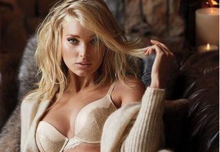 Никогда еще зима не была такой соблазнительной: рекламная кампания белья Victoria's Secret