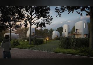 Как будеть выглядеть первый в мире 3D-отель? Как деревня в соседней Галактике!