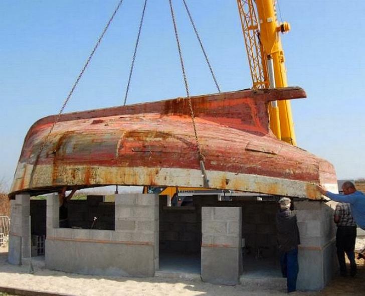 Фото №2 - Осмотр на месте: дома из лодок в порту Булонь-сюр-Мер