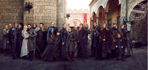 Фото №5 - Entertainment Weekly показали новые эксклюзивные кадры к «Игре престолов»