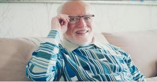 Гарольд Cкрывающий Боль снялся в немецкой рекламе (видео)