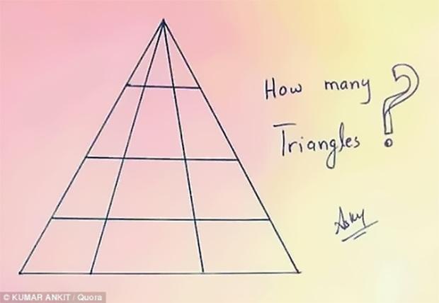 Фото №1 - Сколько треугольников ты видишь?