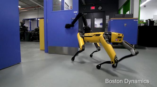 У Boston Dynamics новость для тебя: дверь больше не спасёт
