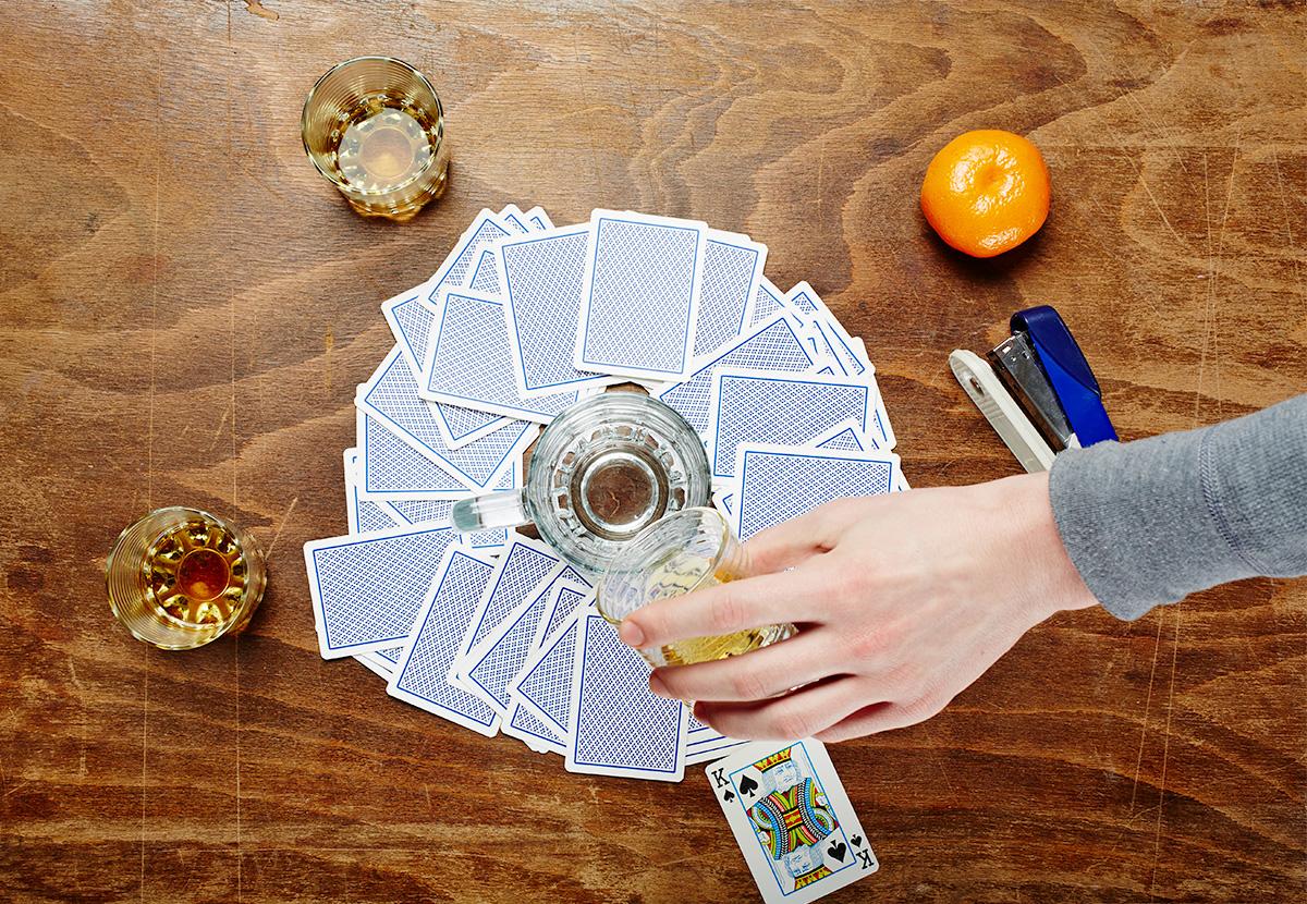Карточная алкогольная игра