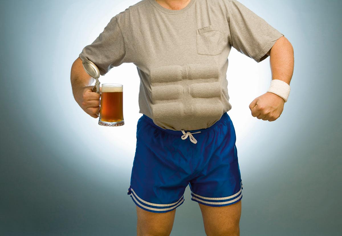 Прикольные картинки про спорт и алкоголь