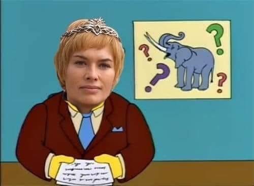 Фото №2 - Фанаты «Игры престолов» нашли ответ, зачем Серсее нужны слоны