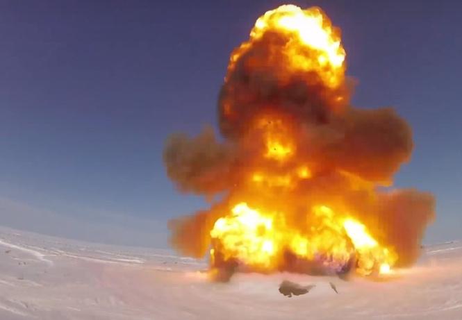 Россия запустила новую модернизированную противоракету. И это выглядит совершенно убойно! (МЕГАВИДЕО)