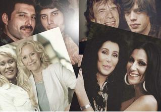 Наедине с собой: рок- и поп-звезды, обнимающие самих себя, но молодых