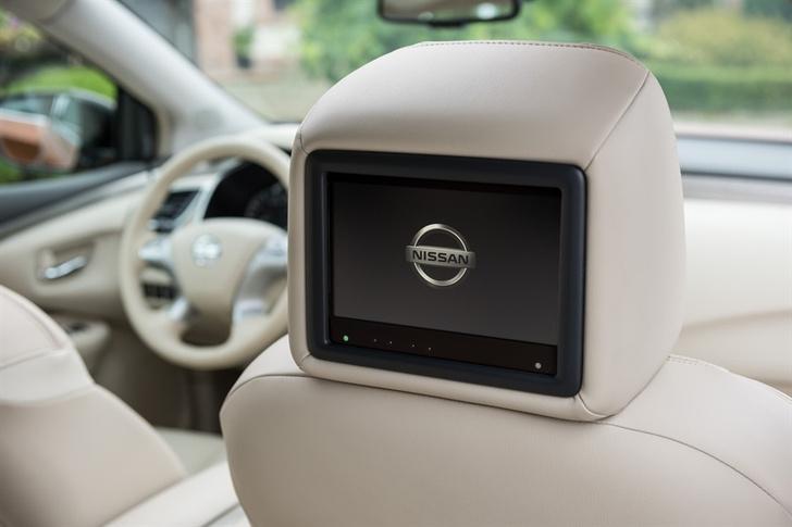 Фото №6 - Кресла «нулевой гравитации», красная кнопка и еще кое-что о Nissan Murano