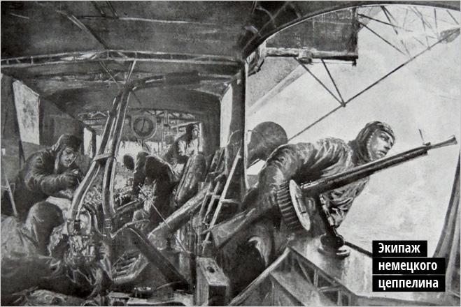 Экипаж немецкого цеппелина