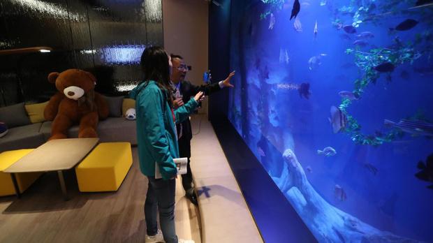 Фото №5 - Первый «подземный» отель открылся в Китае (фото)