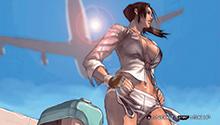 Фото №4 - Девушки из игры Tekken — добро должно быть с кулачками
