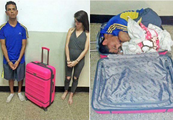 Фото №1 - Женщина пыталась выкрасть мужа из тюрьмы в чемодане!