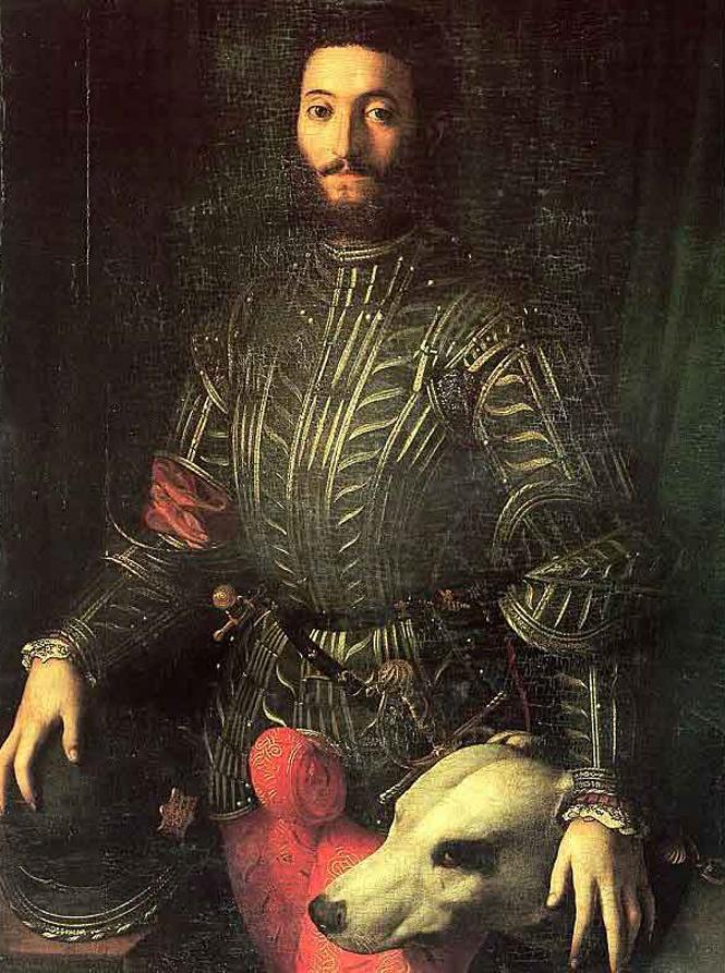 Портрет Гвидобальдо II делла Ровере, герцога Урбинского