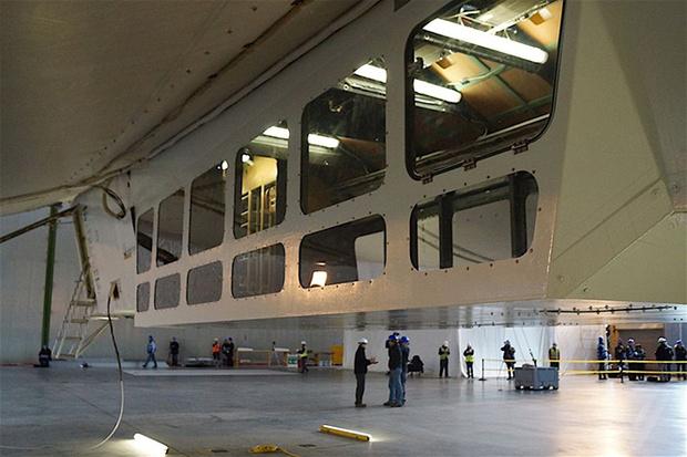 Фото №8 - Запредельно громадный мега-дирижабль Airlander 10 готов к запуску!