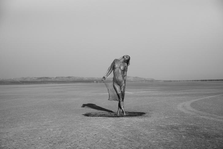 Фото №6 - Бельгийская модель снялась обнаженной, чтобы защитить природу