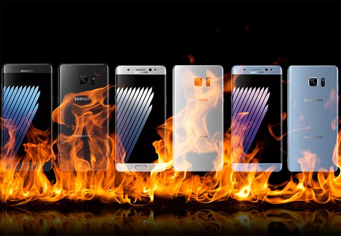 Фото №1 - Найдена главная причина, почему Samsung Galaxy Note 7 взрываются по сей день