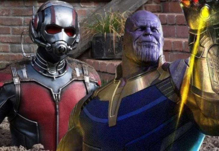 Фото №1 - Поклонники «Мстителей» обсуждают противоречивую теорию о Таносе и Человеке-Муравье