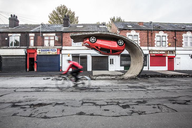 Фото №1 - Британский скульптор делает невозможные архитектурные объекты (галерея)