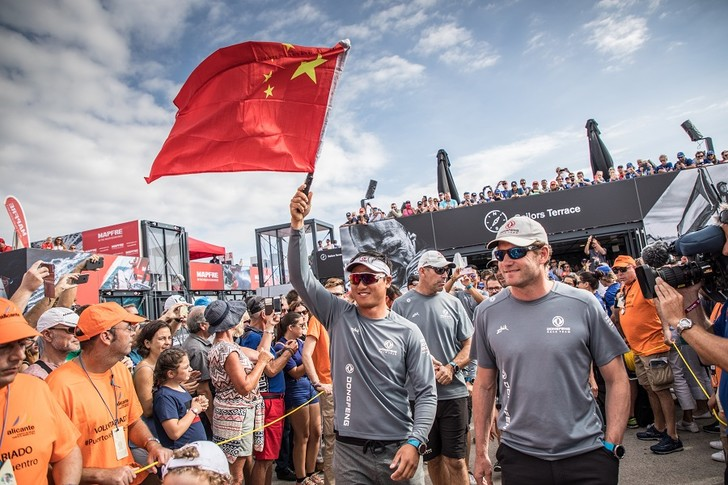 Фото №2 - Dongfeng race team стартовала с Volvo Ocean Race
