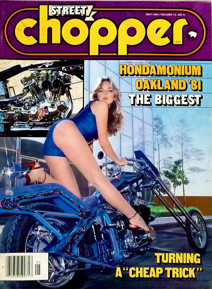 Фото №2 - Сексуальные девушки байкеров из 1980-х!