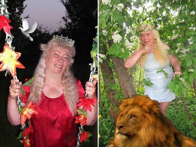 Фото №6 - Богиня Фотошопа: женщина поразила пользователей Facebook  своими фотографиями