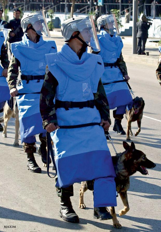 Фото №2 - Военные и смешные: самая чудная форма армий мира