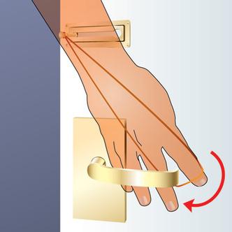 Фото №2 - Как открыть дверь, закрытую на цепочку