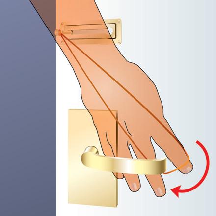 Открываем дверь на цепочке