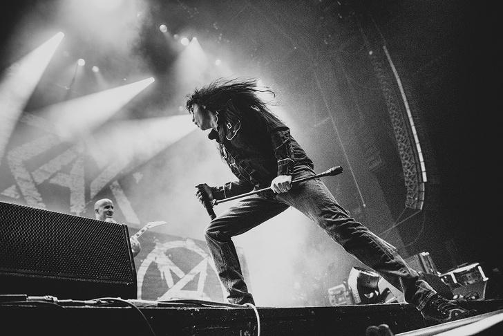 Фото №16 - Как разверзался ад на концерте трэш-металлистов Slayer и Anthrax
