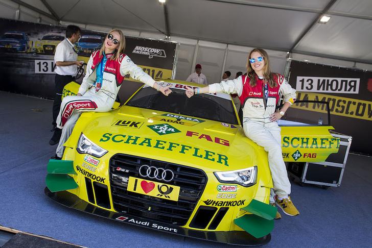 Фото №1 - Знаменитости гоняют на Audi