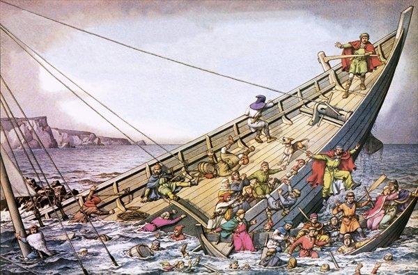 Фото №1 - «Титаник» XII века: кораблекрушение, изменившее историю
