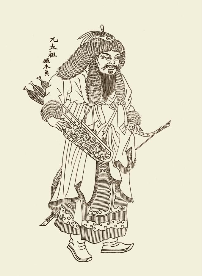 Старший брат Чингисхана Бектер