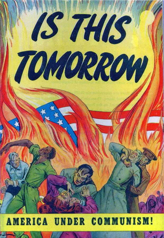 Фото №8 - 24 исторических плаката с антисоветской агитацией