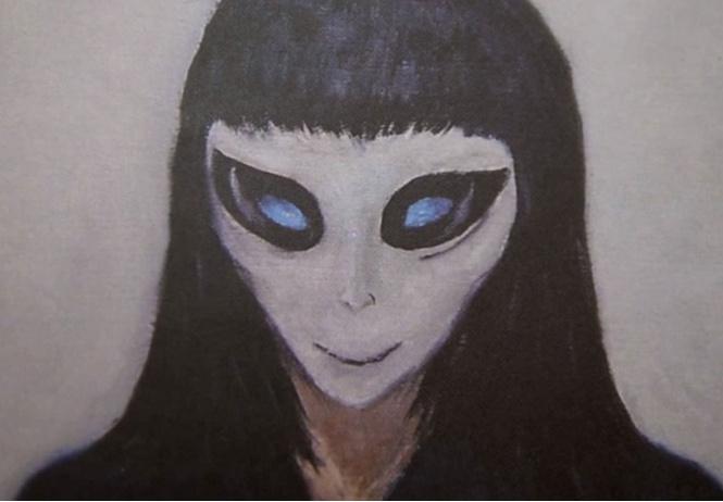 художник рассказал инопланетянка лишила девственности пишет картины пришельцах